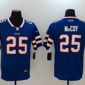 Men's Buffalo Bills 25 LeSean McCoy jersey